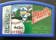 Leapster MATH BASEBALL  Cartridge by Leap Frog Leapfrog