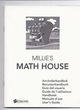 Millie`s Math House Benutzerhandbuch User`s guide