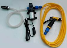 with cigarette lighter 80W  Electric pump high pressure car washer  pump 12V