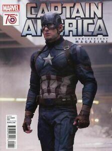 """CHRIS EVANS & CAPTAIN AMERICA featured in """"Captain America Anniversary Magazine"""""""
