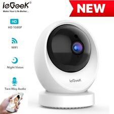 ieGeek 1080P HD Babyphone IP Kamera mit Kamera Monitor Nachtsicht WIFI Wlan DHL