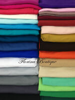Maxi Stretchy PLAIN JERSEY Hijab head Scarf shawl wrap top quality muslim women