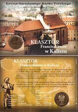 ■■■ Poland 2011 2 Zlote Polish Cities KALISZ Church Francesc in Blister UNC ■■■