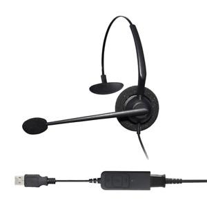 Entry Level Monaural Noise Cancelling USB Headset