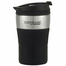 THERMOcafe by Thermos Vacuum Insulated Stainless Steel Travel Cup, 200ml, Black,