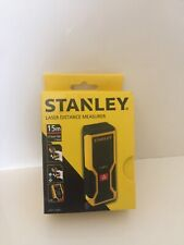stanley laser distance  measurer new with box