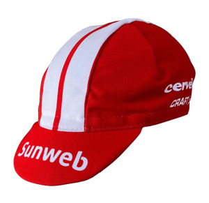 2019 Sunweb Professional Team Cycling Cap - Made in Italy by Apis