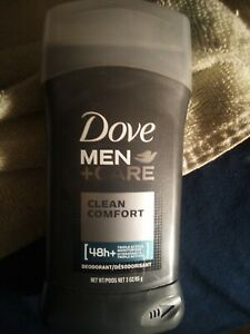 Dove Men+Care Deodorant Stick Clean Comfort 3 oz. New. 4 available