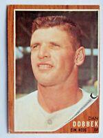 Dan Dobbek #267 Topps 1962 Baseball Card (Cincinnati Reds) VG