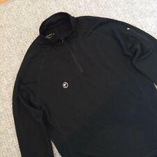 New Men's EMBERS  Merino Wool Sweater XL 1/4 Zip pullover