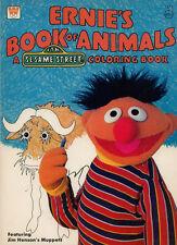 Sesame Street coloring book RARE