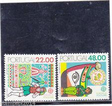 PORTUGAL SET EUROPA CEPT (1981)   MNH