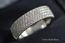 Tiffany & Co. Metro 5 Row Diamond Wedding Band 18K White Gold 7 3/4