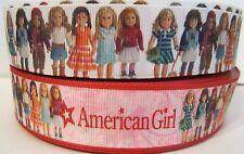 GROSGRAIN AMERICAN GIRL RIBBON LOT FOR HAIR BOWS 4 YARDS