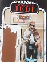 Vintage Star Wars Prune Face Kenner ROTJ-77 Card Back