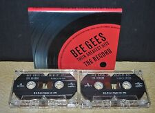 BEE GEES      - THE RECORD - THEIR GREATEST HITS -            - CASSETTE TAPE -
