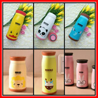 Cute Kids Thermos Flask Stainless Steel INSULATED School Cup Vacuum Thermal Mug