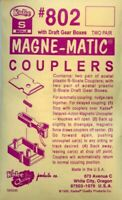 Kadee S Scale Magne-Matic Coupler w/ Draft Gear Boxes Detail #KAD802