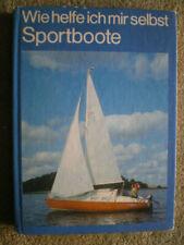 Sportboote - DDR Reparaturbuch Boote Segel Motoren Anker Bootselektrik Ruderboot