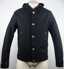 REPLAY Herren Jacke Jacket Blouson Wolljacke Kapuze Black Gr.L NEU mit ETIKETT