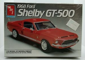 AMT ERTL '68 Ford Shelby GT-500 1:25 Model Kit No. 6541 Factory Sealed
