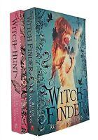 Ruth Warburton 2 Books Witch Finder + Witch Hunt Teen Fantasy Historical New