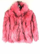 Next Girls Faux Fur Jacket in Pink Age 9-10 11-12 13-14 15-16 (20)