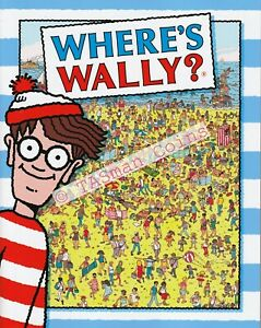 Stamp Pack Australia 2021 Where's Wally? Sheetlet