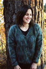 Easy Knit Women's Side to Side Cardigan - Knitting Pure & Simple Pattern 202