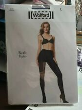 Wolford Beth Tights sapphire blue/black