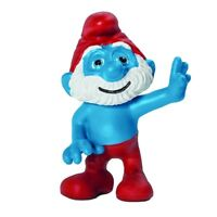 NEW SMURFS MOVIE PAPA SMURF SCHLEICH PVC FIGURE PEYO RETIRED AS NEW MINT STOCK!
