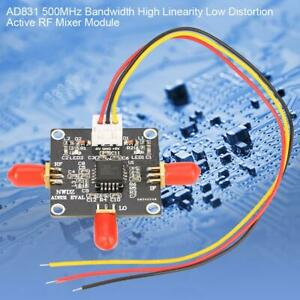 RF Active Mixer Module AD831 500MHz Bandwidth High Linearity Low Distortion USA
