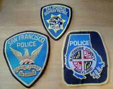 NEW 3 Police Units Pathches USA