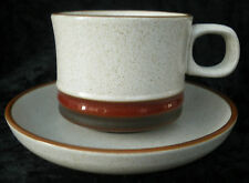 VINTAGE con Denby Potters WHEEL Tazza Piattino Tè Caffè