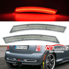 Clear LED Rear Side Marker Lights For MINI Cooper R50 R52 R53 2004 2005 2006 Red