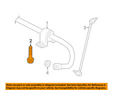 VW VOLKSWAGEN OEM Stabilizer Sway Bar-Front-Stabilizer Bar Mount Bolt N91073401
