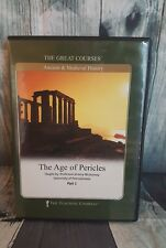 The Great Courses DVD Set 2 DVDs The Age of Pericles Part 2
