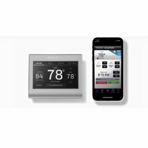 Honeywell Home Wi-Fi Smart  Touchscreen Color-Changing  Thermostat RTH9585WF1004