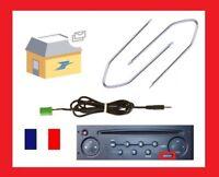 3.5mm Jack Aux Adaptateur Auxiliaire Câble Autoradio Renault Clio MP3 Iphone cle