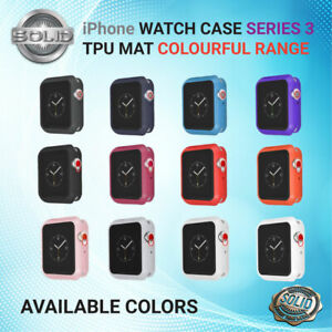 Apple Watch Series 3 Full Protective Case Screen Protector MATT iWatch 38/42mm