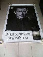 AFFICHE YSL VINCENT CASSEL 4x6 ft Bus Shelter Original Fashion Vintage Poster