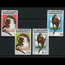 ST KITTS NEVIS 1978 Savanna Monkey. SG 385-388. Mint Never Hinged. (AB856)