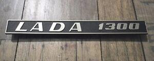 Lada 1300 Rear Trim Badge Emblem Plastic 21063-8212200