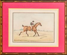 Jockey Up on Race Horse