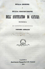 CATANIA ARCHEOLOGIA ANFITEATRO