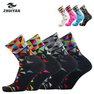 Cycling Socks Sport Bicycle Sock Outdoor Breathable Road Mountain Bike