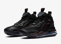 Nike Men's Futuristic Air Jordan Aerospace 720 Shoes in Black