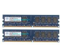 Nanya 4 G 4GB 2X 2GB DDR2 PC2-6400 800MHz 240PIN DIMM Memory Desktop NON-ECC RAM