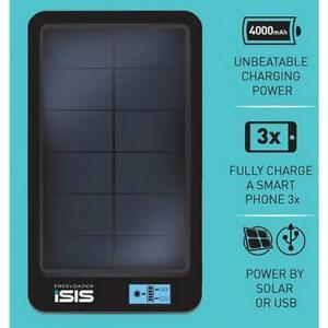 Freeloader Sixer - Solar Panel Charging Pack 4000mAh Li-PO4 Battery Bank - USB
