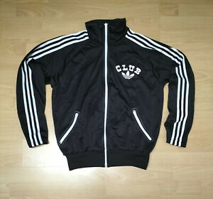 CLUB adidas Jacke - Oldschool / Vintage Trainingsjacke - Track Jacket Gr. M - L